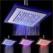 LED Duschkopf Mit Automatischer 3 Farbwechsel