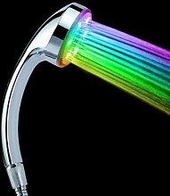LED Duschkopf mit Farbwechsel für Gute Laune - Das Original als wunderschöne Geschenkidee. Super Weihnachtsgeschenk