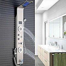 LED Duschpaneel mit Bidet-Funktion aus rostfreiem