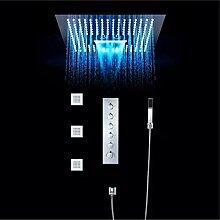 LED-Duschsystem, Brause-Wand-Set