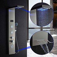 LED-Duschsystem, Wasserfall-Regendusche Wasserhahn