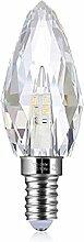 LED E14 4,3W Kristall - Leuchtmittel Bleikristall