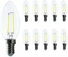 LED E14 Edison Lampe ersetzt 20 Watt, E14 C35 Led