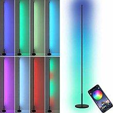 LED Eck Stehlampe 18W RGB Farbwechsel Ecklampe