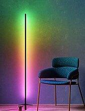 LED Eck Stehleuchte, Moderne Minimalistische RGB