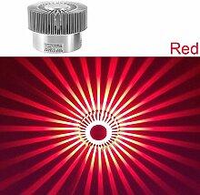 LED Effektleuchte Wandleuchte Wamweiss Flurlampe