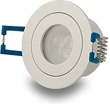 LED Einbau-Strahler 230V GU11 Bad Weiß 3W