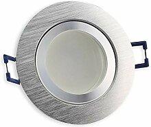 LED Einbau-Strahler edelstahl - rund 3 Watt