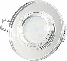LED Einbau-Strahler flach dimmbar nur 15mm Tiefe
