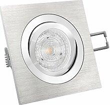 LED Einbau-Strahler QF-2 eckig schwenkbar
