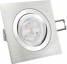 LED Einbau-Strahler QF-2 schwenkbar, Aluminium