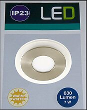 LED-Einbauleuchte 7 W Warm-Weiß Briloner 7258012
