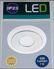 LED-Einbauleuchte 7 W Warm-Weiß Briloner 7258019