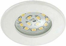 LED Einbauleuchte Attach weiß - Briloner