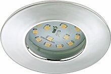 LED Einbauleuchte chrom mit Leuchtmittel 400 lm