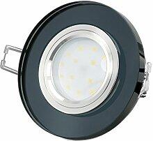 LED Einbauleuchte extrem flach Einbautiefe nur
