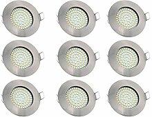 LED Einbauleuchte flache Einbauspots