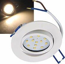 LED Einbauleuchte für Deckeneinbau I 1x 5W I 500