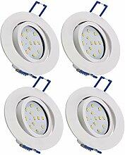 LED Einbauleuchte für Deckeneinbau I 4x 5W I 520