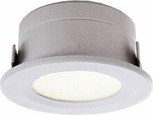 LED Einbauleuchte in Weiß 1W 12V 40lm IP44