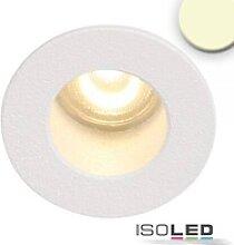 LED Einbauleuchte MiniAMP rückversetzt weiß 1W