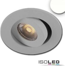 LED Einbauleuchte MiniAMP schwenkbar alu