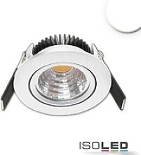 LED Einbauleuchte MiniAMP Sys68 alu gebürstet 5W