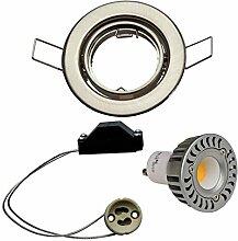 LED Einbauleuchte - Schwenkstrahler Set 3 x 3,5