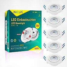 LED Einbauleuchten IP20 Ultra flach Schwenkbar