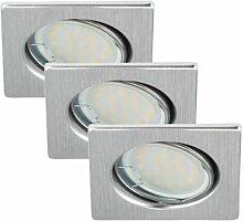 LED Einbauleuchten Set 3x 5 Watt GU10