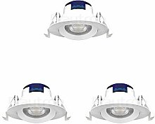 LED Einbauspot | Einbaustrahler | 5 Watt | rund |