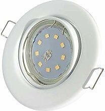 LED Einbaustrahler 12V inkl. 2 x 5W SMD LM Farbe