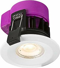 LED-Einbaustrahler, 230 V, IP65, 6 W, feuerfest,