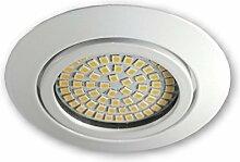 LED Einbaustrahler 230 V S0307 weiss -