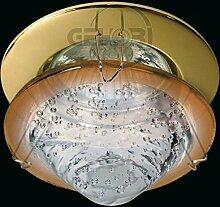 LED Einbaustrahler 230 Volt Einbauleuchte 1,5W matt GU10 1079OR Glasplatte Strahler Spot warmweiß