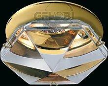 LED Einbaustrahler 230 Volt Einbauleuchte 450lm SMD COB 38° GU10 734EXA Glasplatte Strahler Spot warmweiß