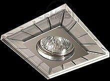 LED Einbaustrahler 230 Volt Einbauleuchte 5 W GU10 2731OR Glas Design Strahler Spot warmweiß