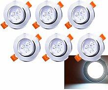 LED Einbaustrahler 230V/12V Einbaustrahler