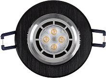 LED Einbaustrahler 230V 5 16302-5 Warmweiß Ø68