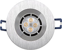 LED Einbaustrahler 230V 5 2661 Warmweiß Ø68 IP44