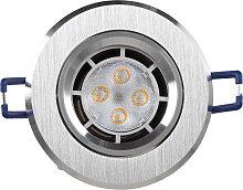 LED Einbaustrahler 230V 5W 1225 Warmweiß Ø68