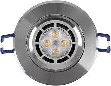 LED Einbaustrahler 230V 5W 16302-1 Warmweiß Ø68