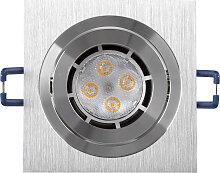LED Einbaustrahler 230V 5W 1771 Warmweiß Ø68
