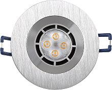 LED Einbaustrahler 230V 5W 2661 Warmweiß Ø68