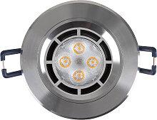LED Einbaustrahler 230V 5W 6222 Warmweiß Ø59