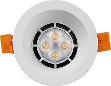 LED Einbaustrahler 230V 5W 7003 Warmweiß Ø70