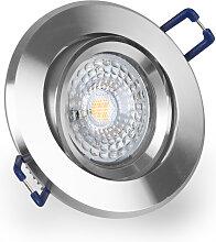 LED Einbaustrahler 230V 6W 6500K Weiß GU10