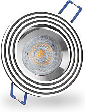 LED Einbaustrahler 230V 6W 6500K Weiß GU10 6342