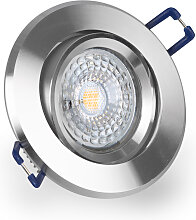 LED Einbaustrahler 230V dimmbar 5,5 16302-1
