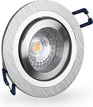 LED Einbaustrahler 230V dimmbar 5,5 1661 Warmweiß